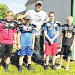 GYFL hands out equipment