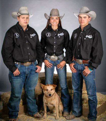 Ayden, Alexia and Blayne Hess have qualified for the national High School Rodeo Finals and National Junior High Rodeo Finals.
