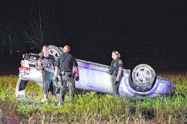 A 30-year-old driver escaped serious injury after rolling his car early Tuesday morning. The driver was arrested for OVI.