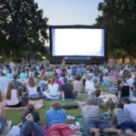 Library hosts outdoor movie