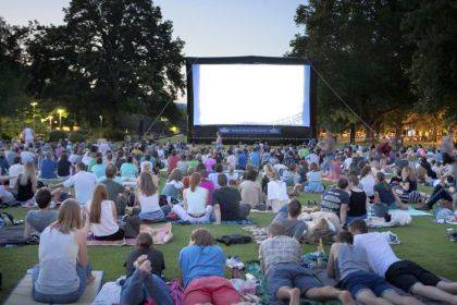 Join the Greenville Public Library for a movie on the lawn.