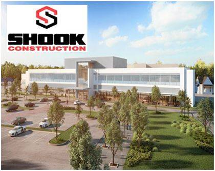 Construction is underway for the Wayne HealthCare Facility Expansion Project, which is shown in this rendering. Groundbreaking took place on May 21, 2019 and the project is being built by Shook Construction.