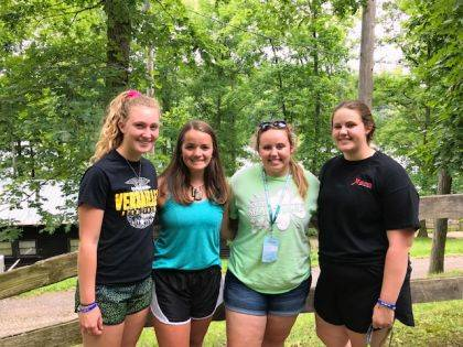Versailles FFA Members who attended were Emma Peters, Tori Wuebker, Courtney Batten and Cayla Batten.