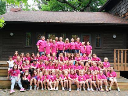 Fifty-seven young ladies took part in the Darke County Girl Scouts Day Camp.
