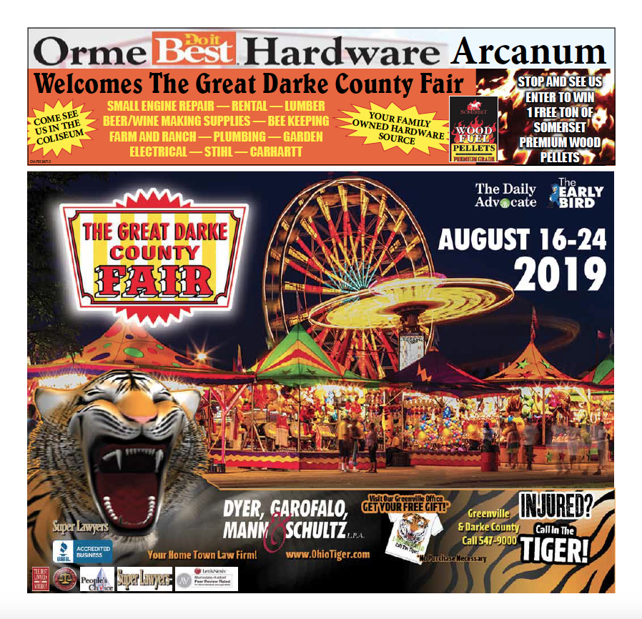 Darke County Fair Preview 2019