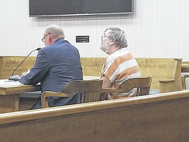 "Bethany J. Royer-DeLong | Darke County Media Scott ""Doug"" Libey, 61, of Union City, was sentenced to two years in prison for unlawful sexual conduct with a minor in Common Pleas Court on Monday."
