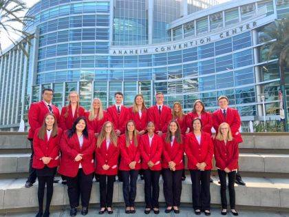 MVCTC Students qualified to compete in the National FCCLA Conference in Anaheim, Calif.