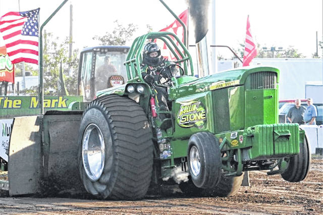 An National Tractor Pullers Association (NTPA) high powered tractor pulls at The Great Darke County Fair's 2029 pull.