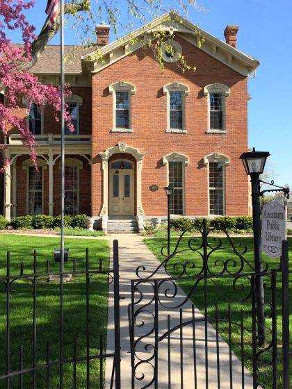 The Arcanum Public Library calls the Ivester house home.