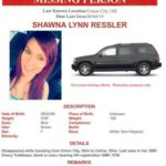 Sheriff investigating disappearnace of Ressler