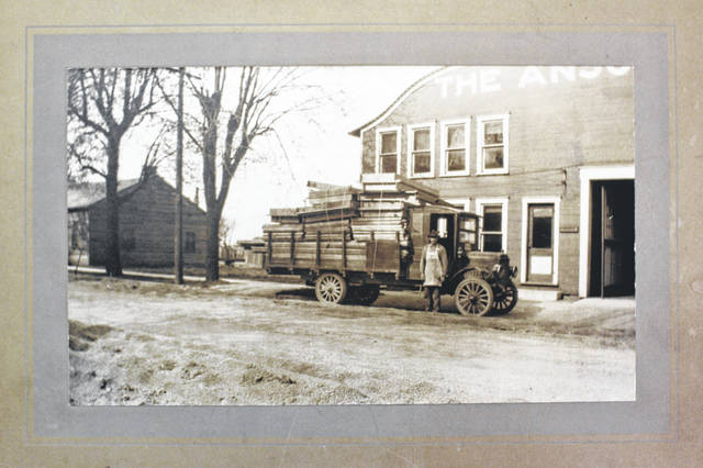 Today's Ansonia Lumber Co. opened in 1009, building wooden wagon wheels for its customers.