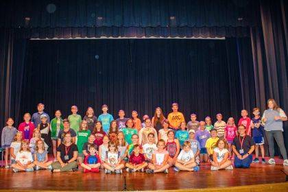 The cast of Missoula Children Theatre's production of Peter and Wendy presented by DCCA will perform at Henry St. Clair Memorial Hall on Saturday, Aug. 3; the matinee starts at 3 p.m. and the evening show begins at 7 p.m.