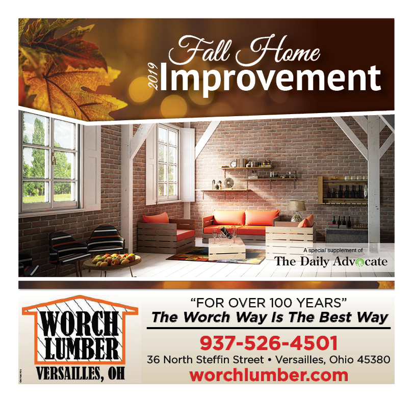 Fall Home Improvement 2019