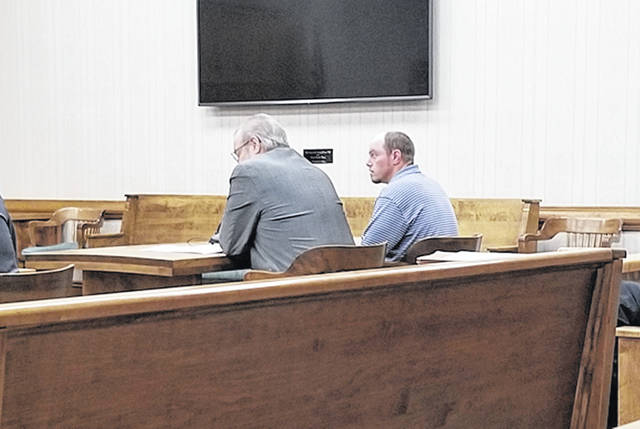 Bethany J. Royer-DeLong | Darke County Media Joshua R. Allen, 33, made an appearance in Darke County Common Pleas Court on Tuesday.