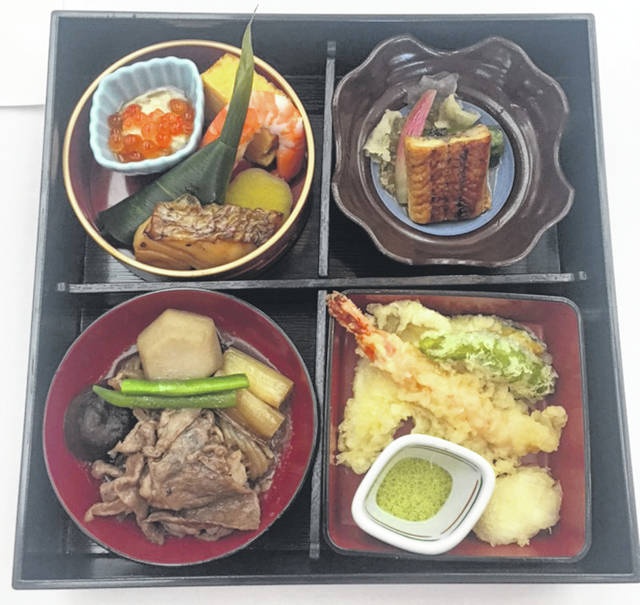Bento boxes are a beautiful way to serve a meal.