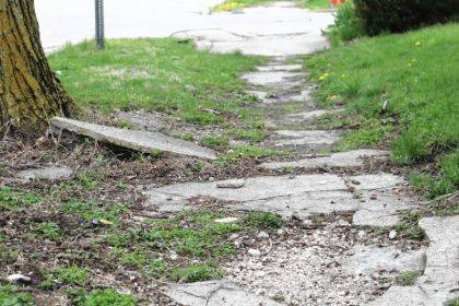 The referendum petition did not get enought signatures, which means the city can move forward in forcing property owners to repair sidewalks.