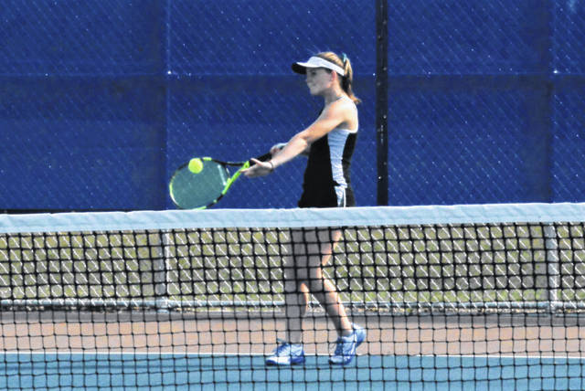 The Lady Wave tennis team defeats the Brookville in a Wednesday night road win.