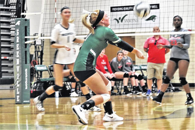 Josi Worden makes a return for the Lady Wave in the team's 3-0 win over the Stebbins Lady Indians.
