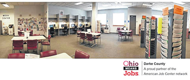 Courtesy photo Located at 603 Wagner Ave., OhioMeansJobs Darke County employment services offer more than just job postings. They provide a wide variety of job-related services.