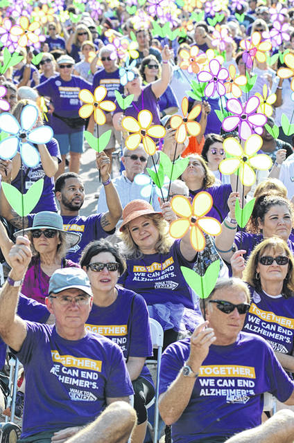 Courtesy Photo Walk to End Alzheimer's is the largest fundraising event for the Alzheimer's Association, with one hundred percent of the money to support education, care, and research. Rain or shine, registration begins at 9 a.m., on Saturday, Sept. 7, at Annie Oakley Park in downtown Greenville.