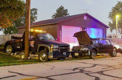 Equipment failure is believed to be the cause of an early morning crash.