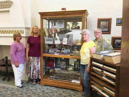 Fort GreeneVille DAR members are recognizing Constitution Week with a display at the Greenville Public Library.