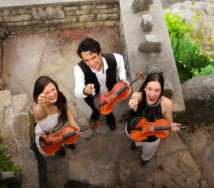 The Fitzgeralds, a trio of fiddling, step-dancing siblings from Canada's Ottawa Valley, open Darke County Center for the Arts 2019-2020 Artists Series.