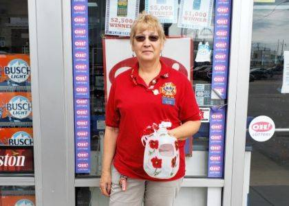 """<p class=""""body"""">GREENVILLE – Members and auxiliary members of the Greenville VFW Post 7262 recently held its annual poppy sale. The sale of poppies helps veterans at the Dayton Veterans Administration Hospital in Dayton."""
