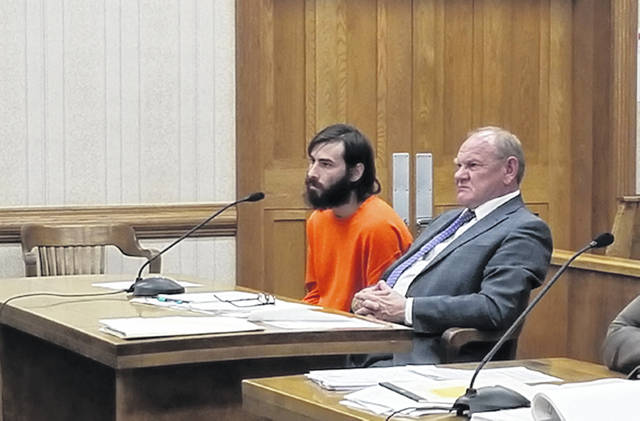 Bethany J. Royer-DeLong | Darke County Media,com Christopher L. Garland, 30, gave a change of plea and was sentenced in Darke County Common Pleas Court on Monday.