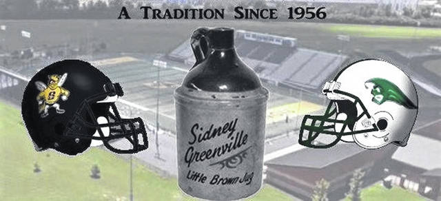 Greenville and Sidney will play Friday night at Harmon Field for the coveted Little Brown Jug.