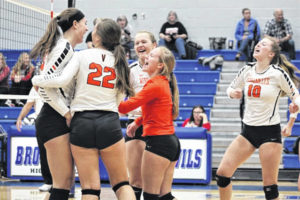 Versailles defeats Madison in tournament play