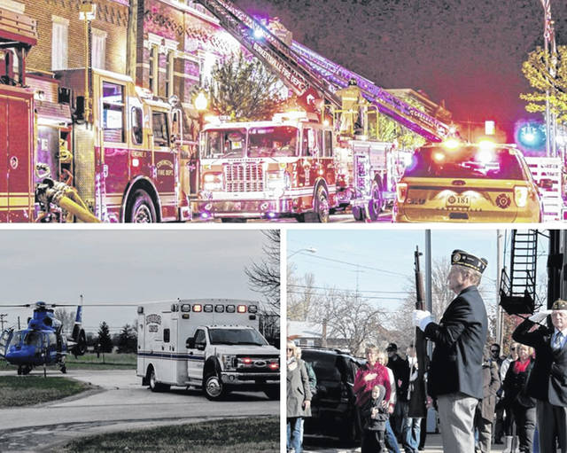 Darke County Media The second annual Backyards and Bonfires Appreciation Day will be held for area police, fire, military, veteran, EMS, and first responders and their families from noon to midnight on Saturday, Oct. 19, at the Fireside Resort, 6236 Shade Road, Greenville.