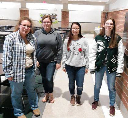 Greenville High School students from the 2018-2019 after-school Big Buddies mentoring program wait to meet up with their Greenville Elementary School Little Buddies.