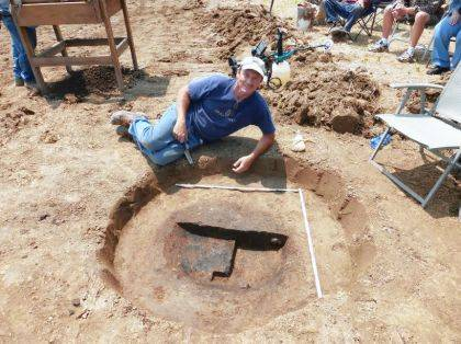 Greg Shipley will present a military archaeology program on Nov. 7.