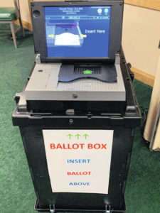 County to cast votes on new equipment