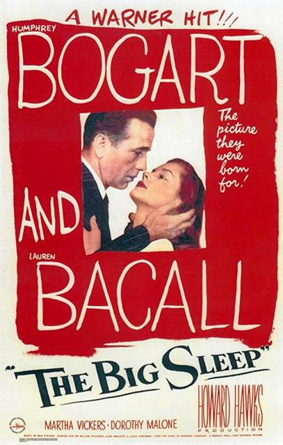 The Big Sleep will be featured at the Greenville Public Library.