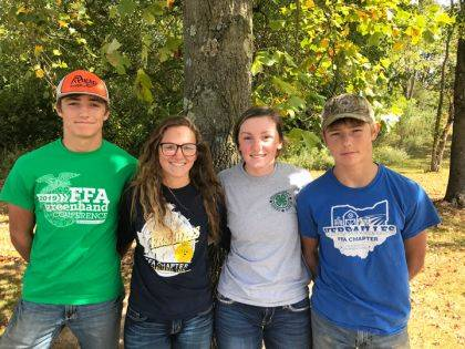 The members who participated were Alex Kaiser, Deanna Hesson, Sara Cavin, and Caleb Kaiser.