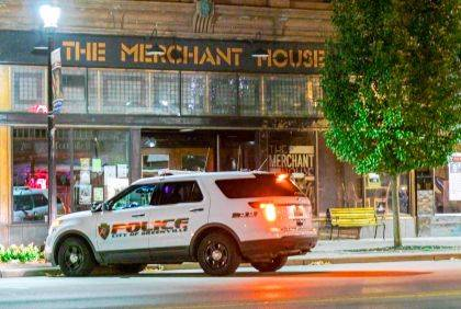 Greenville officers first responded to The Merchant House before learning of a fire near the First Presbyterian Church.