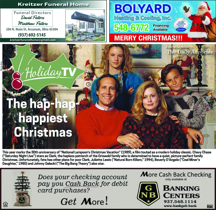 Holiday TV Guide 2019