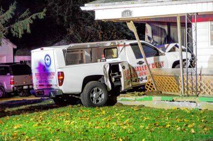 Alcohol is believed to be a factor in a crash in New Madison.