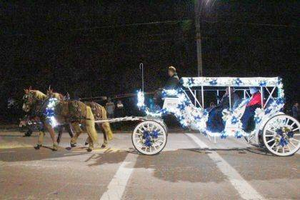 Christmas in the Village & Horse Parade returns to Arcanum on Dec. 14.