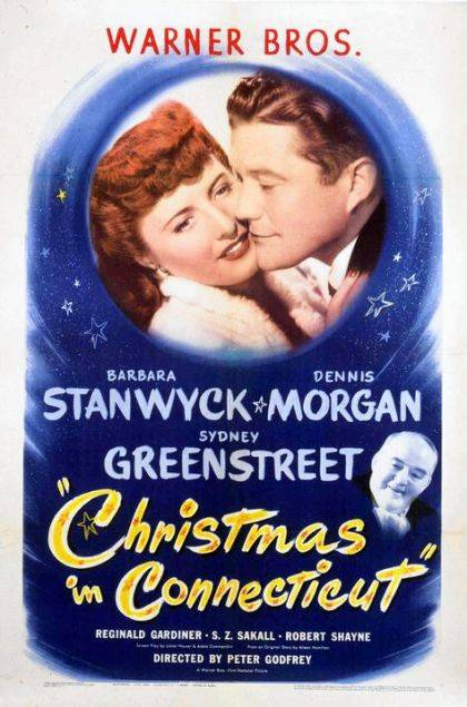 Christmas in Connecticut will be screened during the Third Floor Film Series.