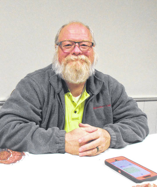 Since retiring from Greenville Township Fire and Rescue, Allen Keaser has grown a beard and will continue to be Santa's helper this season and beyond. Even wife Cheryl gets involved.