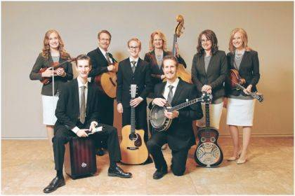 The Garms Family will be in concert at Harrisville Congregational Christian Church on Dec. 14.