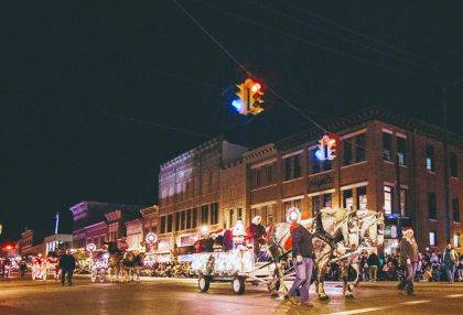 The Hometown Holiday Horse Parade will be held Nov. 23, 7 p.m.