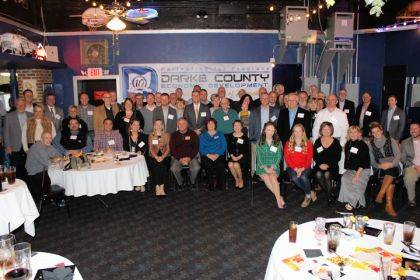 Partnering for Progress celebrated its 10th anniversary with business and community leaders at the annual Fall Mixer.