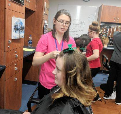The MVCTC Cosmetology Salon is open to the public Wednesdays, Thursdays, and Fridays.