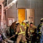 Multiple departments assist in silo fire