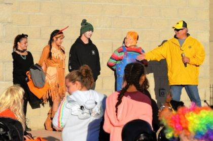 UNION CITY, Ind. – The annual Union City Lions Halloween Parade was held Sunday, Oct. 27 at the Artisan Park in Union City. There was an enthusiastic turn out of Costumed participants from ages 0-75. All participants received candy and there were three monetary prizes for each age group. Lion chairman for the event was Retired Sergeant Dan Green of the United States Air Force.