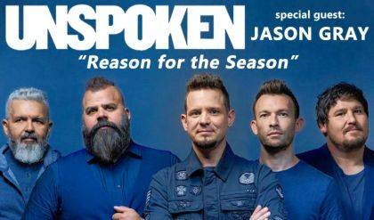 Unspoken and Jason Gray will be in concert on Thursday, Dec. 12 at BMI Event Center.